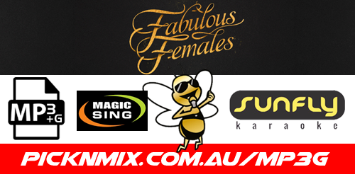 Fabulous Females Collection - 90 Sunfly Karaoke Songs (MP3+G / Magic Sing)