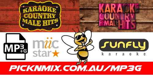 Country Female & Male Collection - 120 Sunfly Karaoke Songs (MP3+G / MIIC STAR)