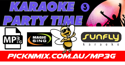 00's Party Time Collection Vol 3 - 120 Sunfly Karaoke Songs (MP3+G / Magic Sing)
