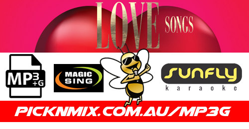 Love Songs - 90 Sunfly Karaoke Songs (MP3+G / Magic Sing)