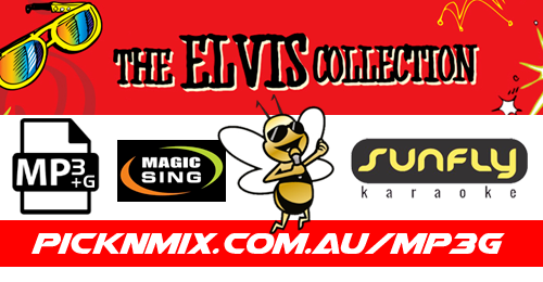 Elvis Collection - 80 Sunfly Karaoke Songs (MP3+G / Magic Sing)