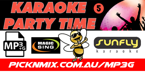 00's Party Time Collection Vol 5 - 120 Sunfly Karaoke Songs (MP3+G / Magic Sing)