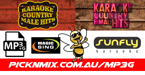 Country Female & Male Collection - 120 Sunfly Karaoke Songs (MP3+G / Magic Sing)