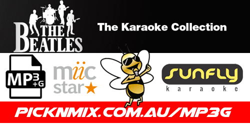 The Beatles Collection - 104 Sunfly Karaoke Songs (MP3+G / MIIC STAR)