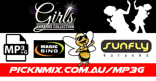 Girls Collection - 130 Sunfly Karaoke Songs (MP3+G / Magic Sing)