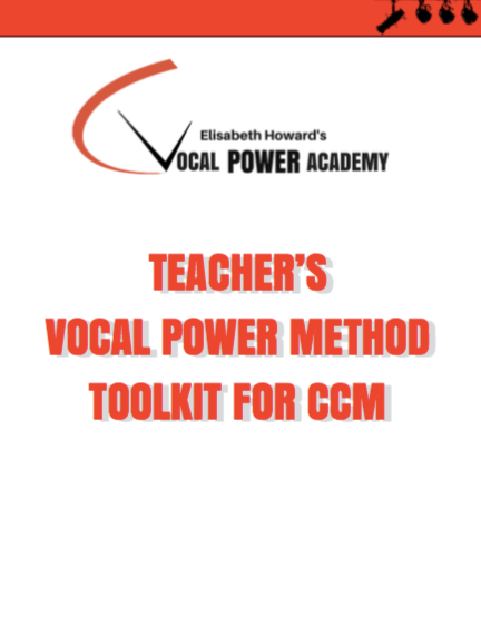 Teacher's Vocal Power Method Toolkit