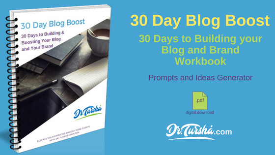30 Day Blog Boost