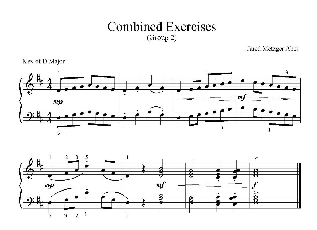 Combined Exercises - Group 2