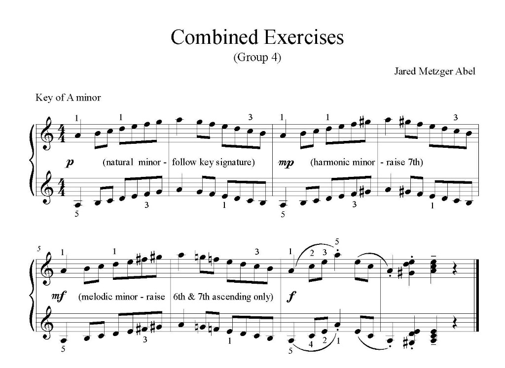 Combined Exercises - Group 4