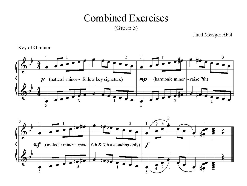 Combined Exercises - Group 5