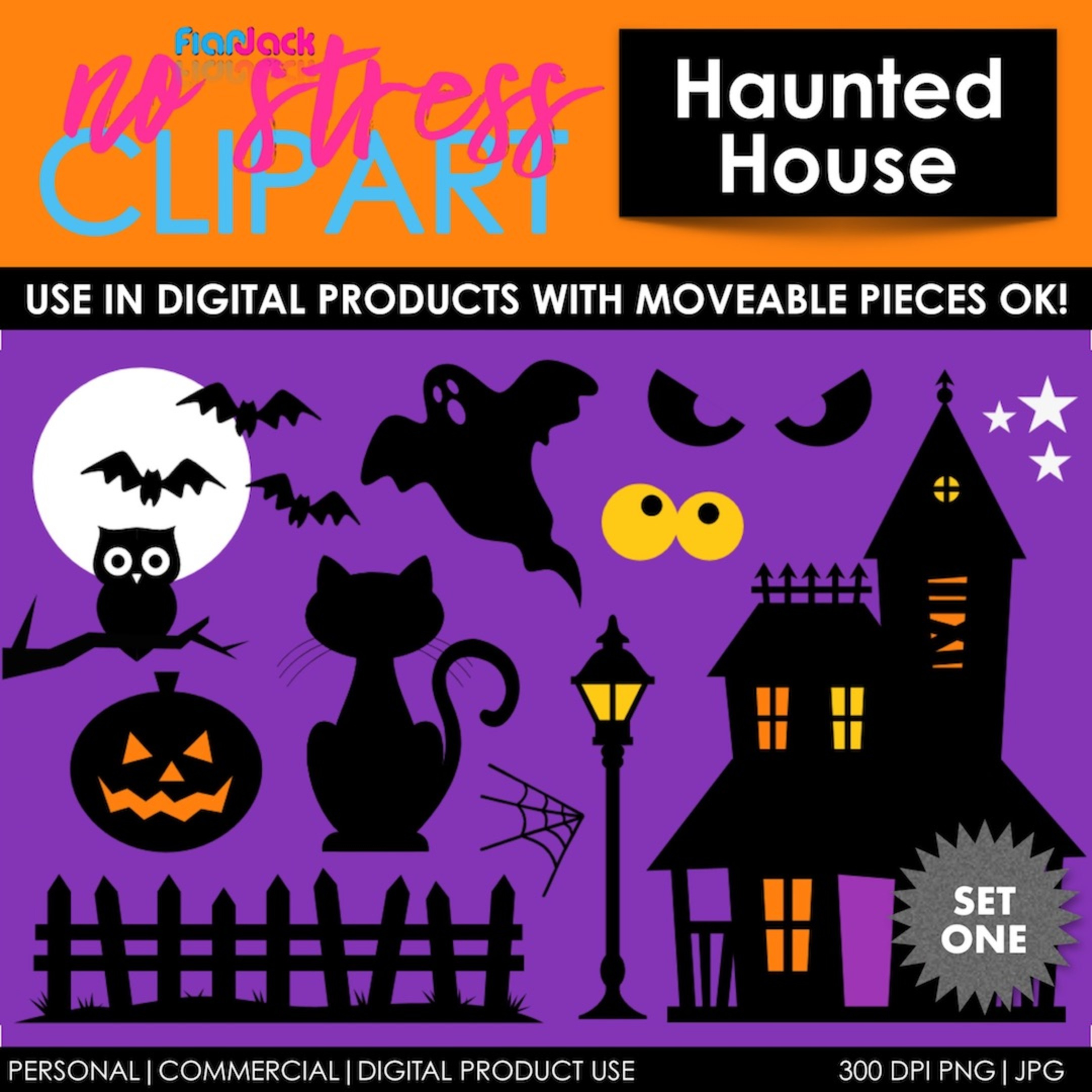 Haunted House Set 1