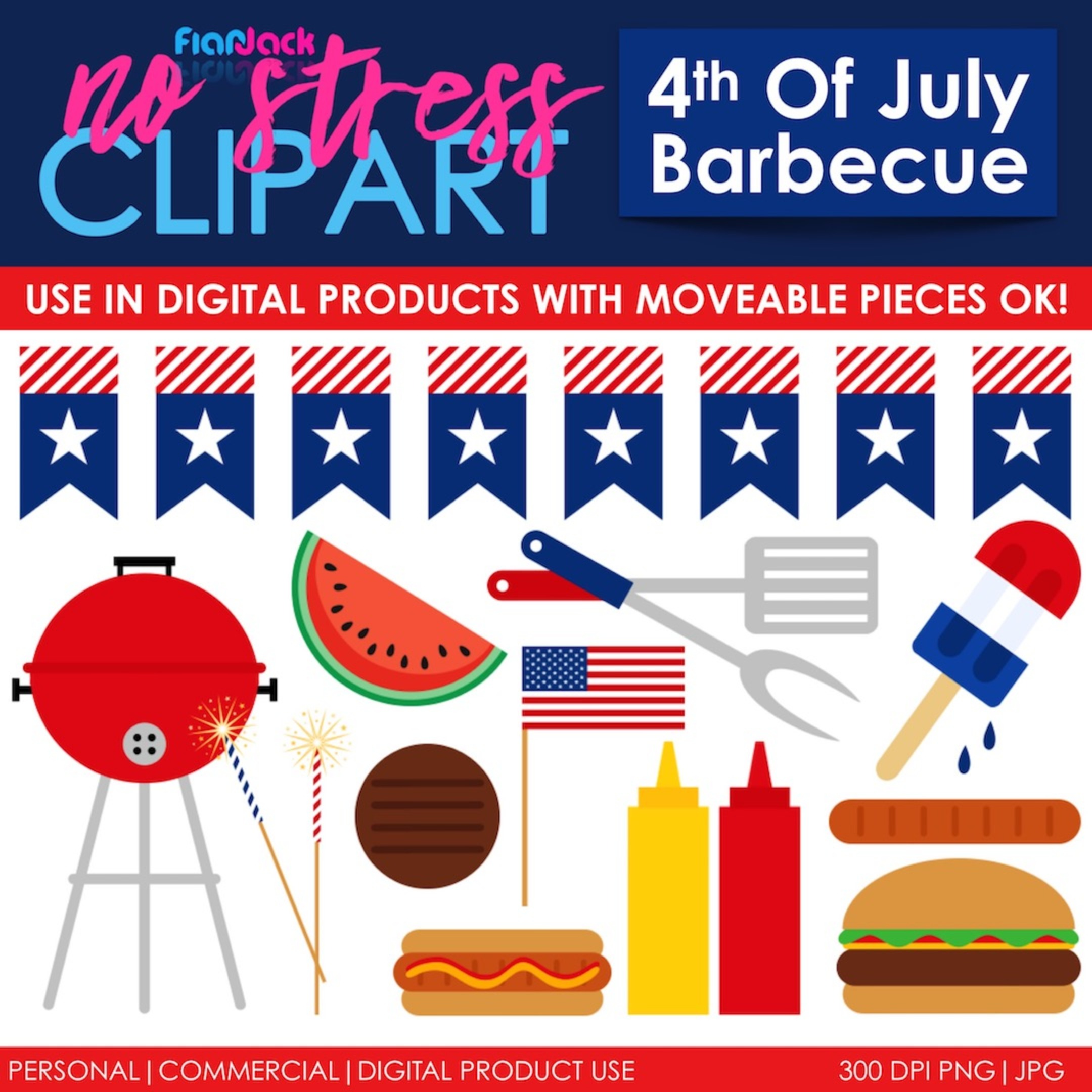 4th of July American Barbecue