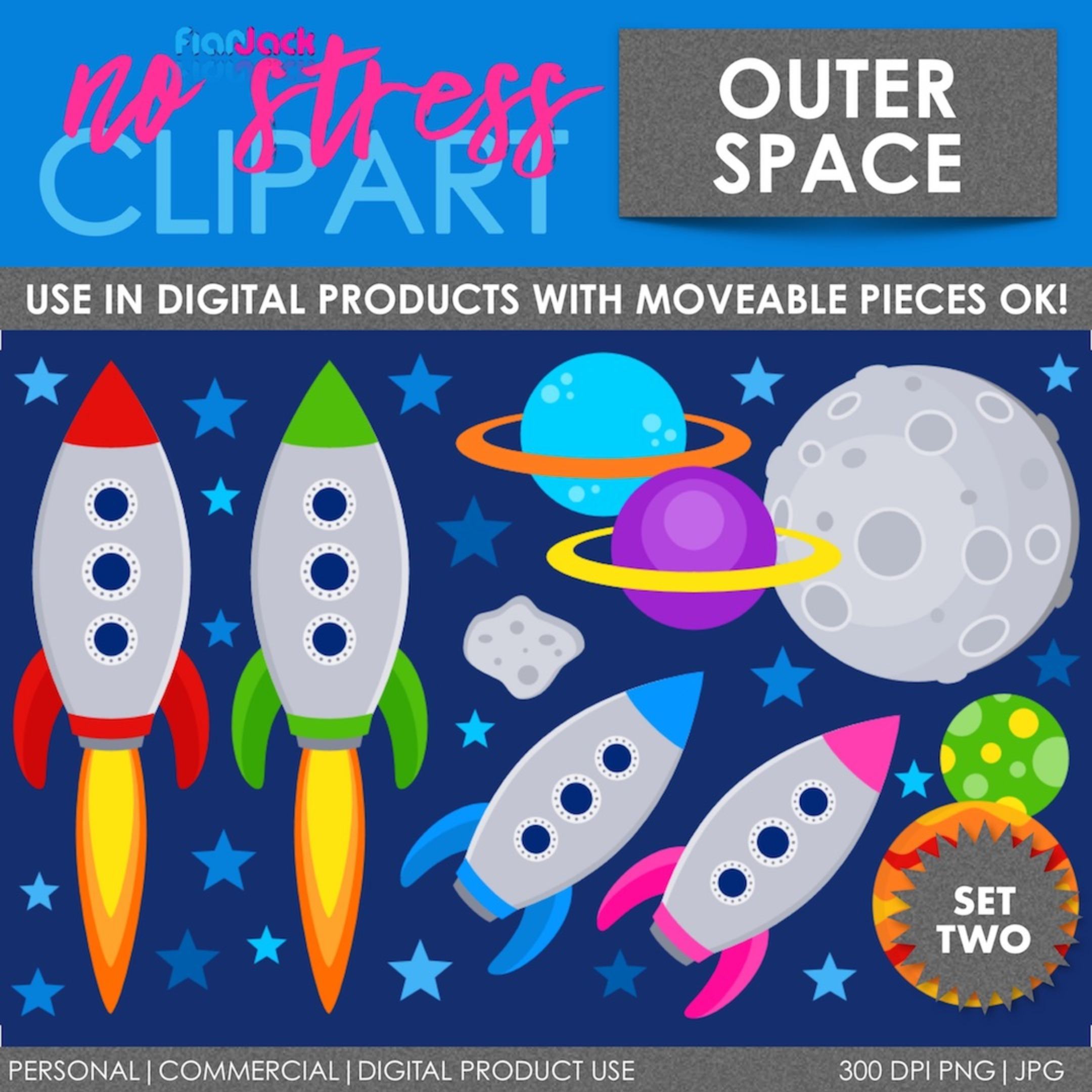 Outer Space Rockets