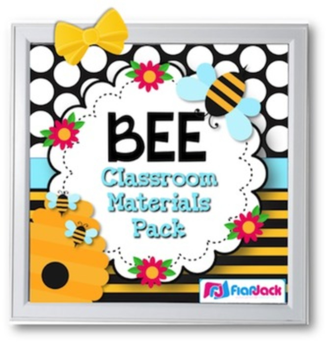 Bee Themed Class Decor Bundle