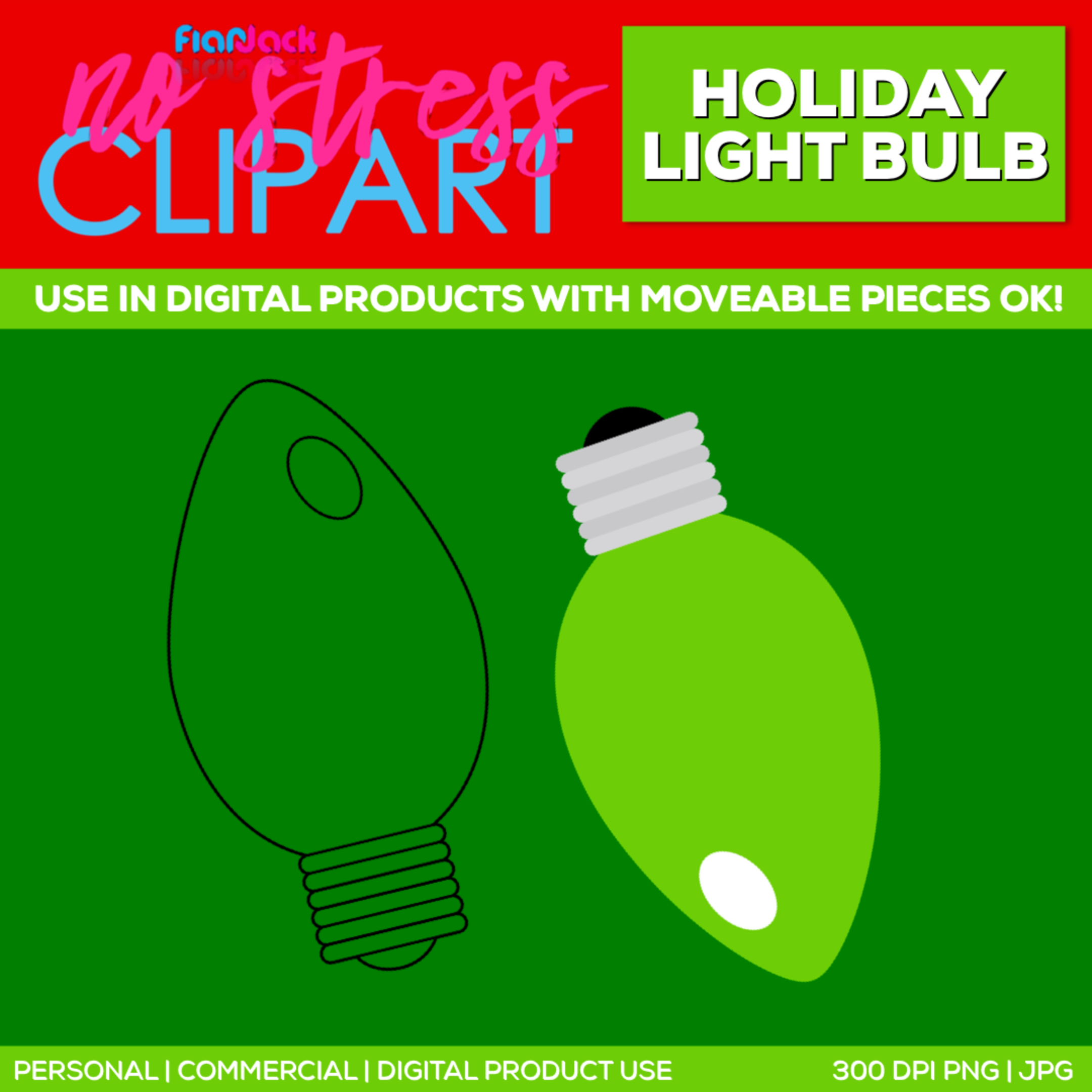 Holiday Light Bulb