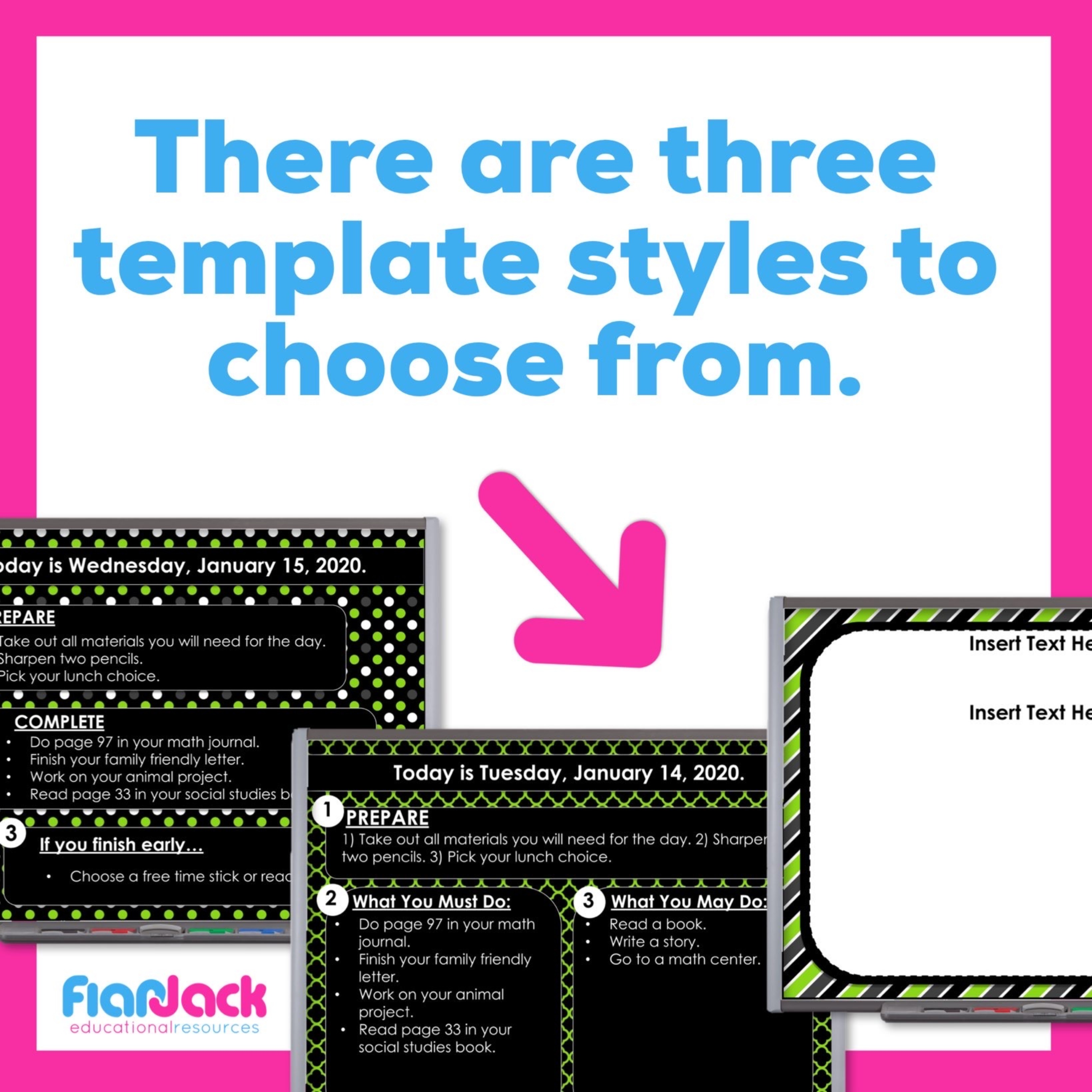 Editable PowerPoint Templates   Green And Black