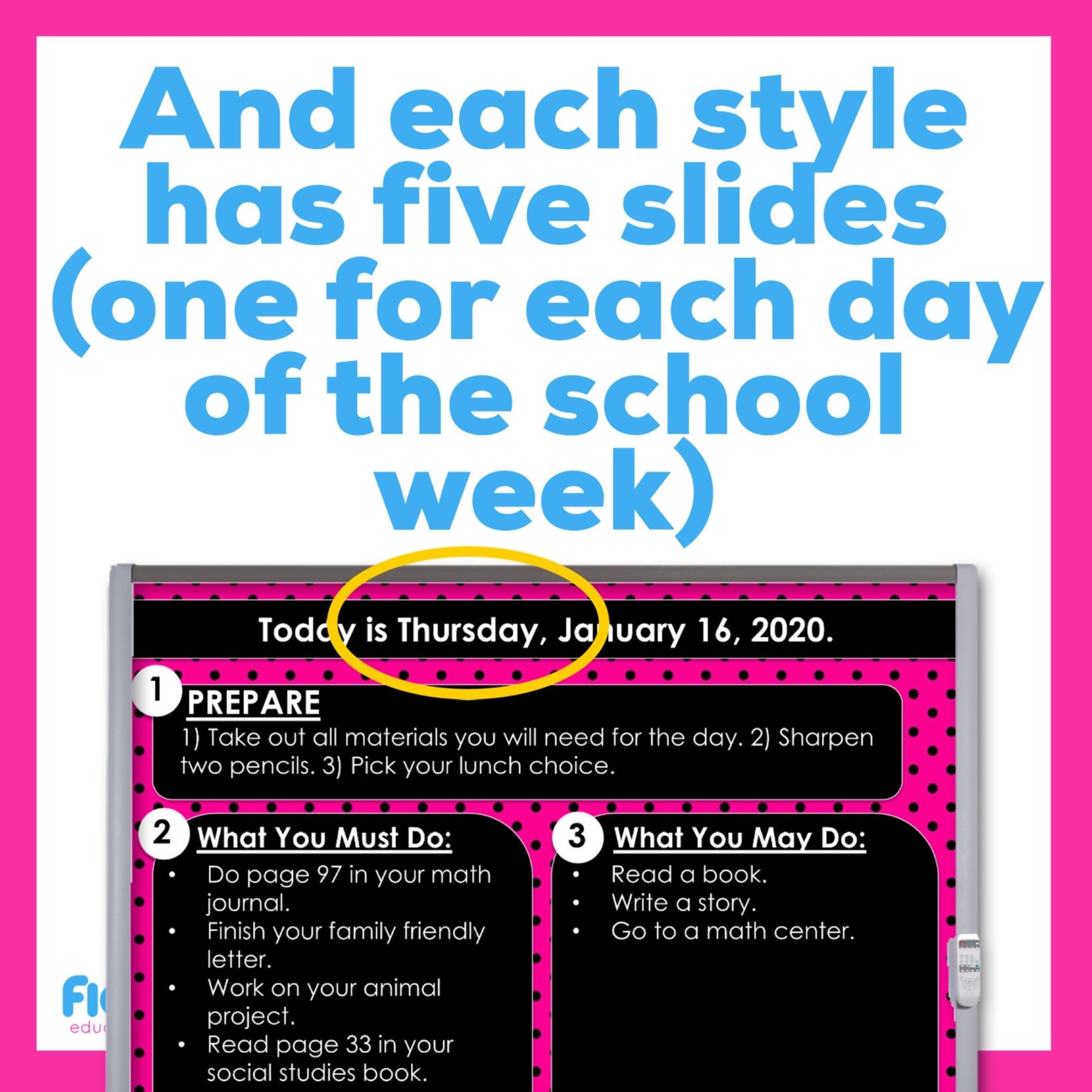 Editable PowerPoint Templates | Hot Pink And Black