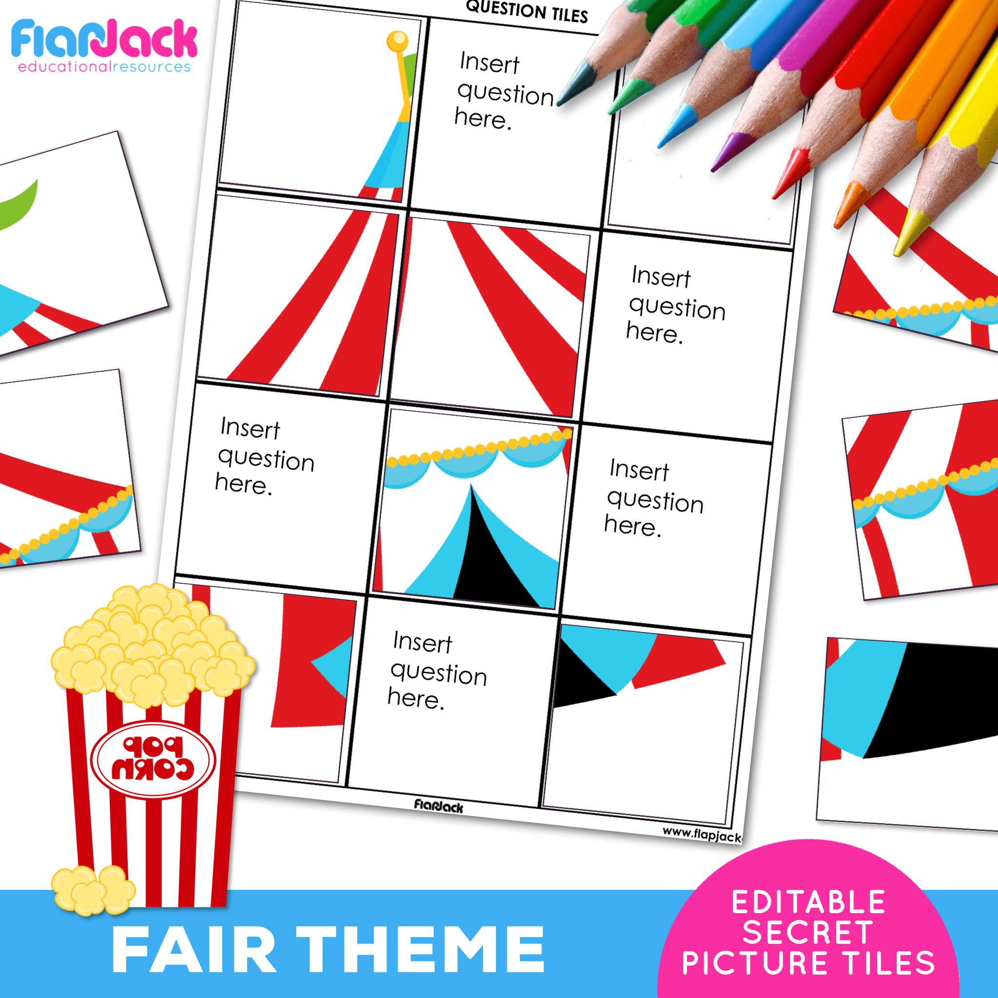 Printable EDITABLE Worksheets | Fair