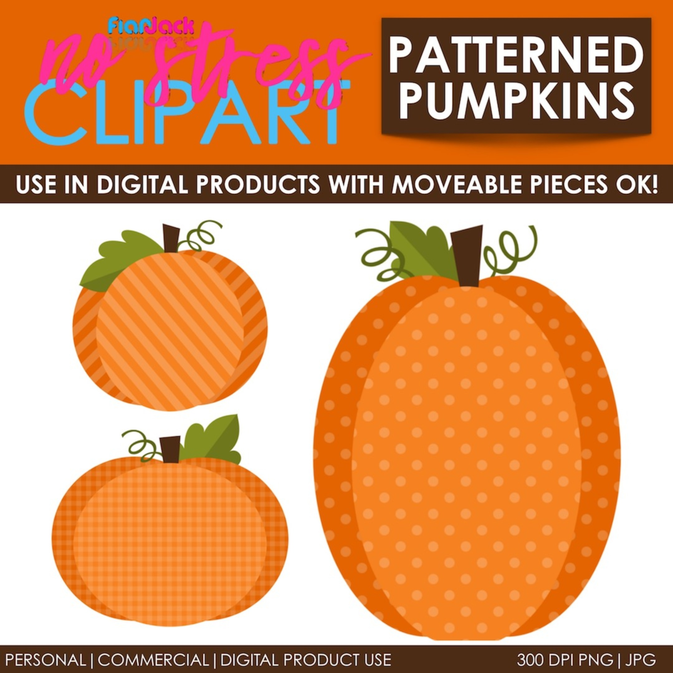 Fall Patterned Pumpkins