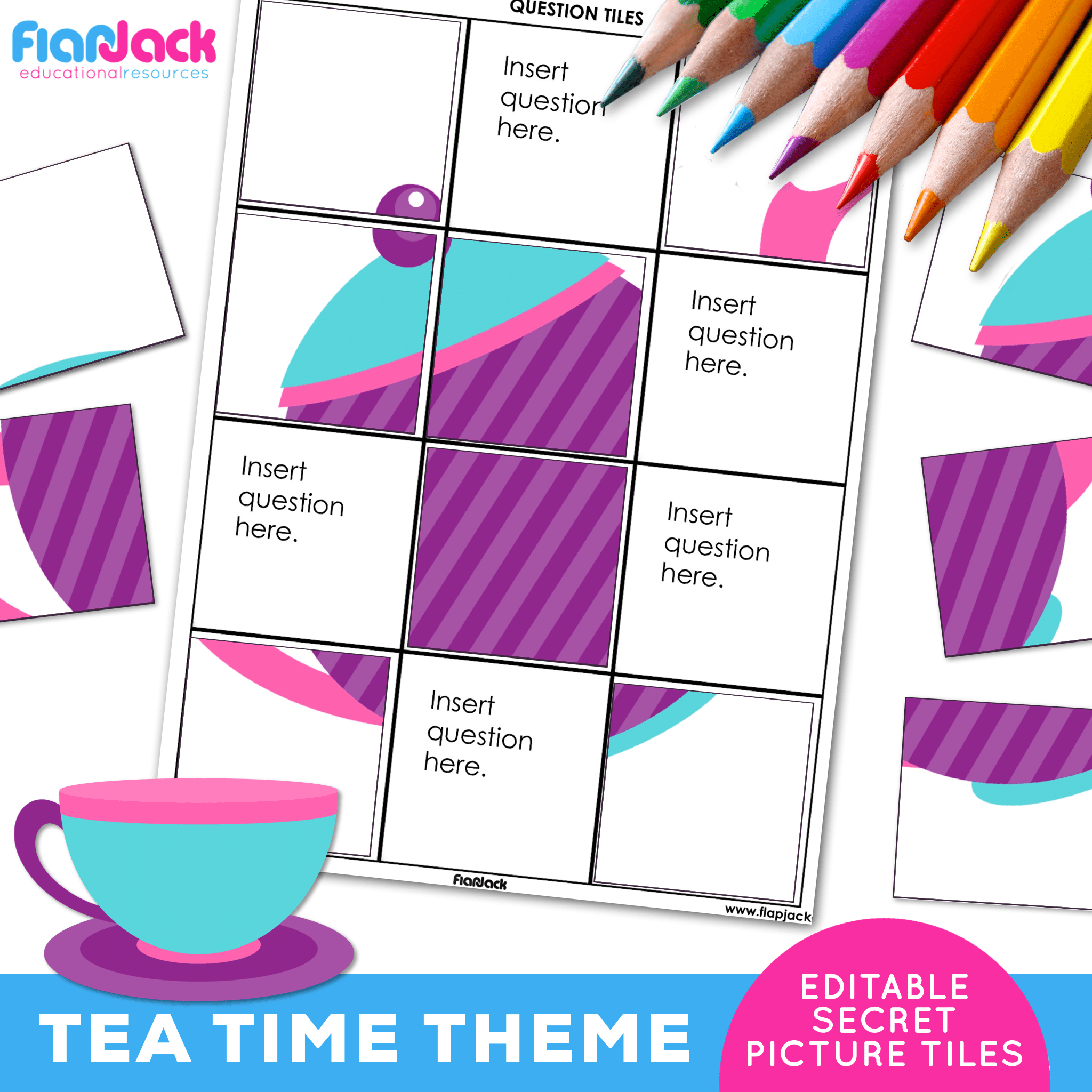 Printable EDITABLE Worksheets | Tea Time