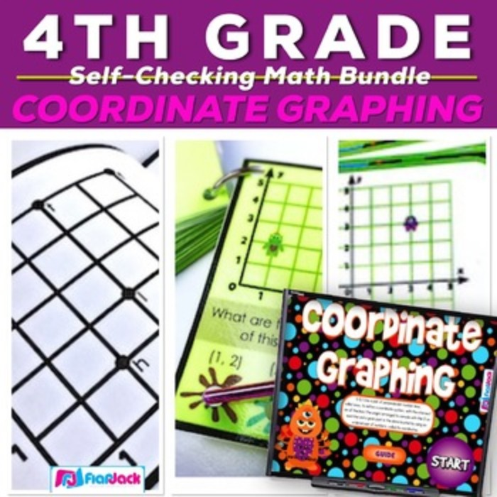 Coordinate Graphing Activity Bundle