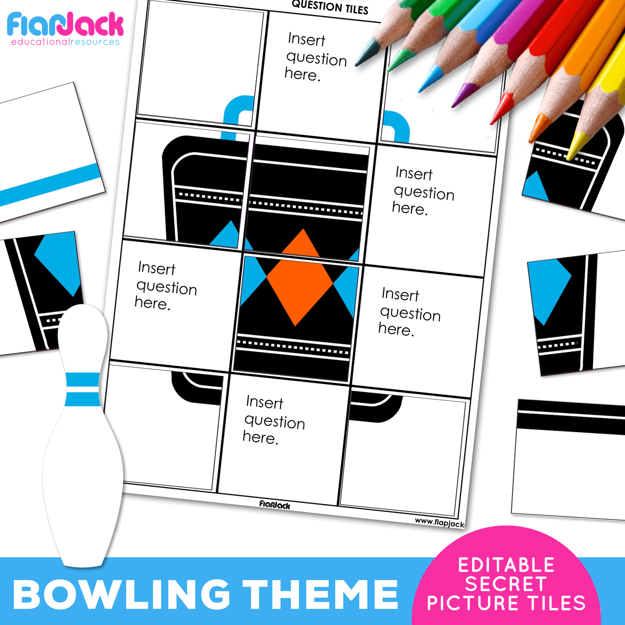 Printable EDITABLE Worksheets | Bowling