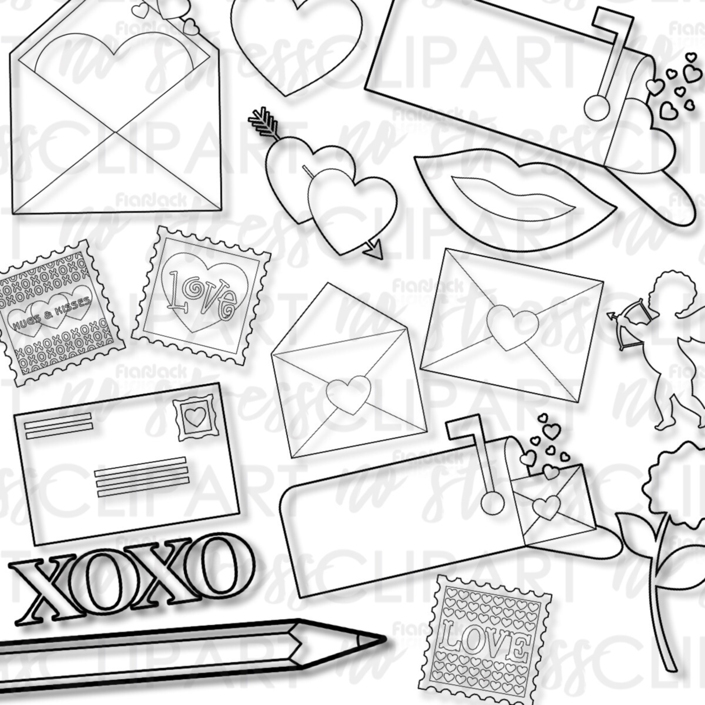 Valentine Love Letters