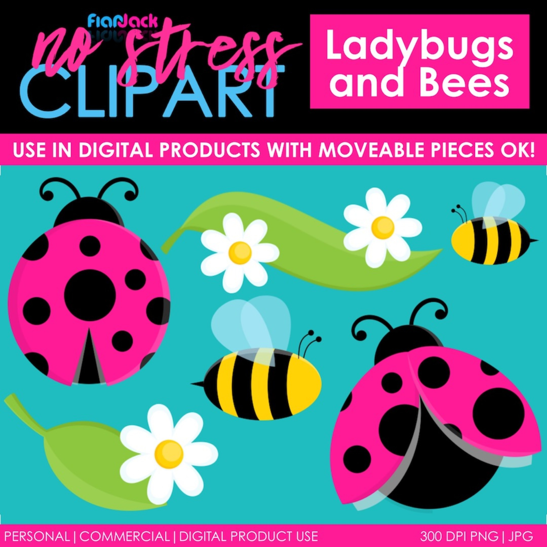Ladybugs and Bees