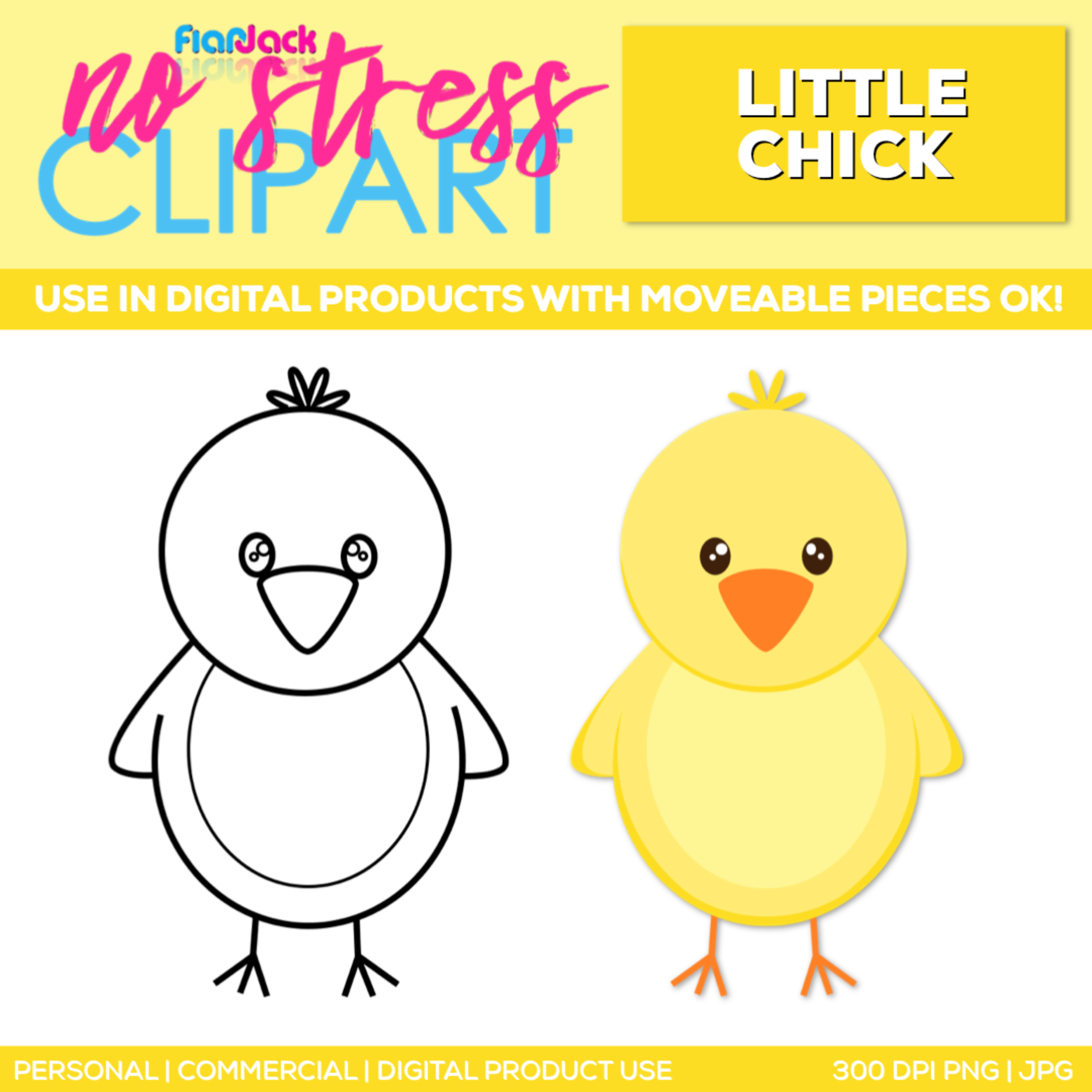 Little Chick Clipart