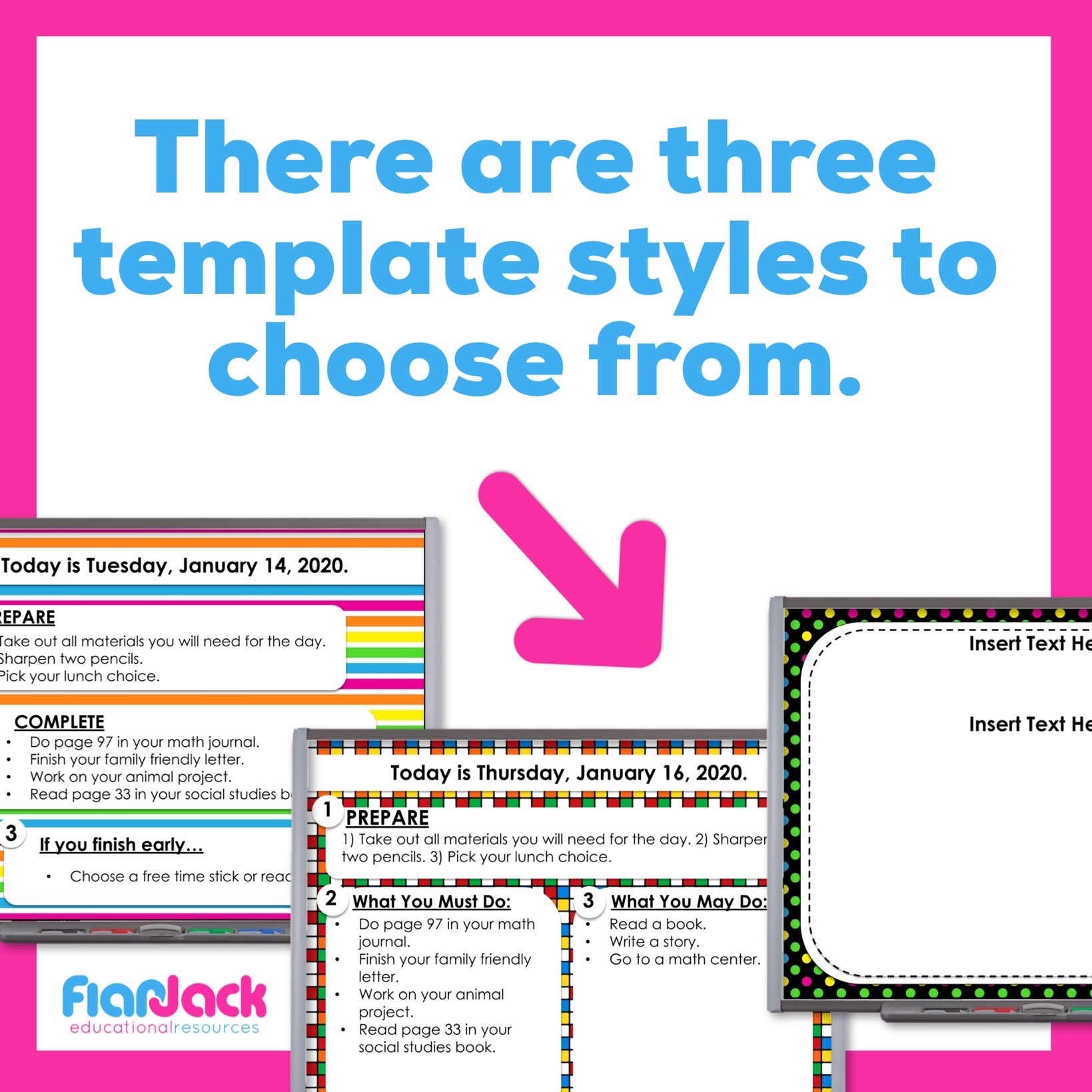 Editable Google Slide Templates | 80s Vibes