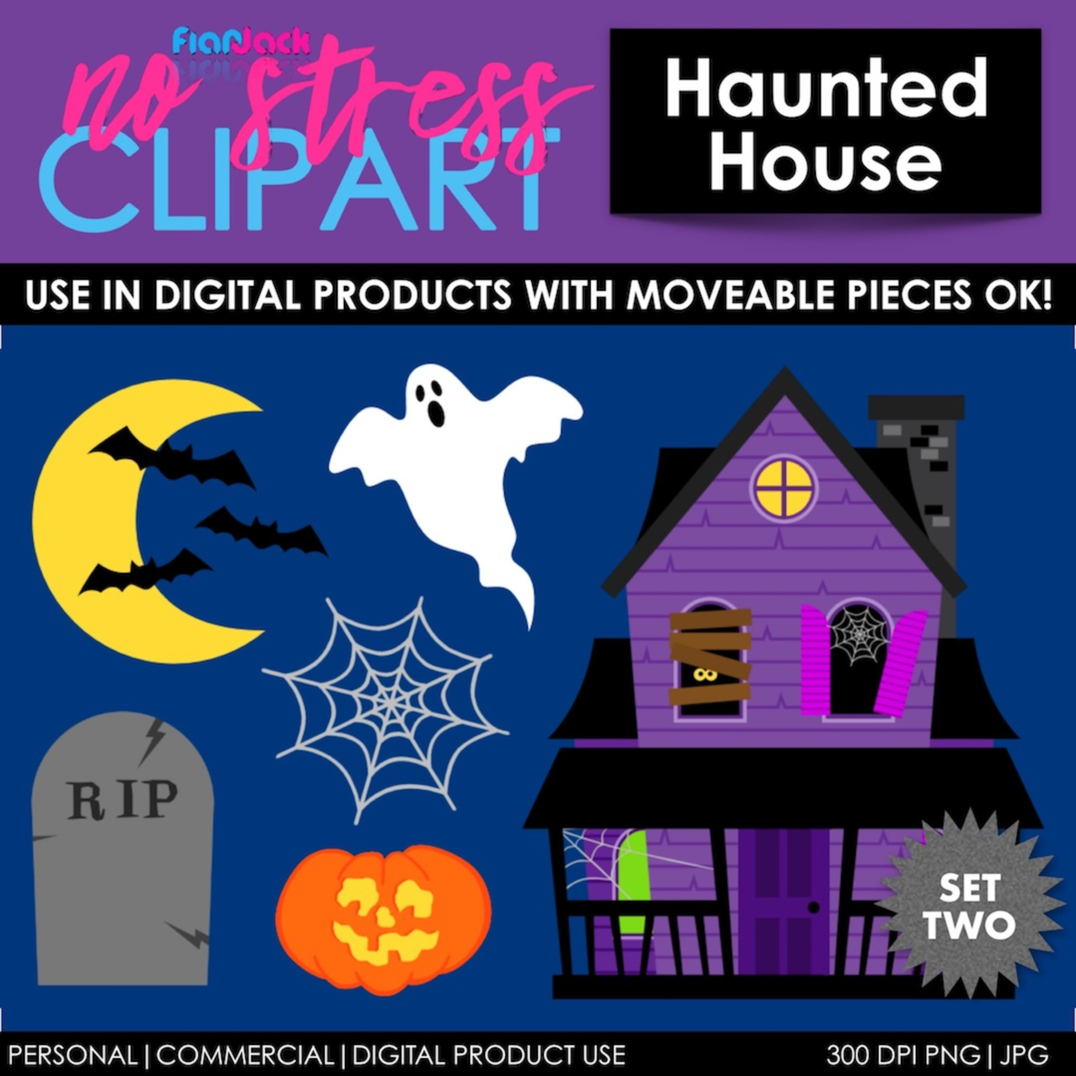 Haunted House Set 2