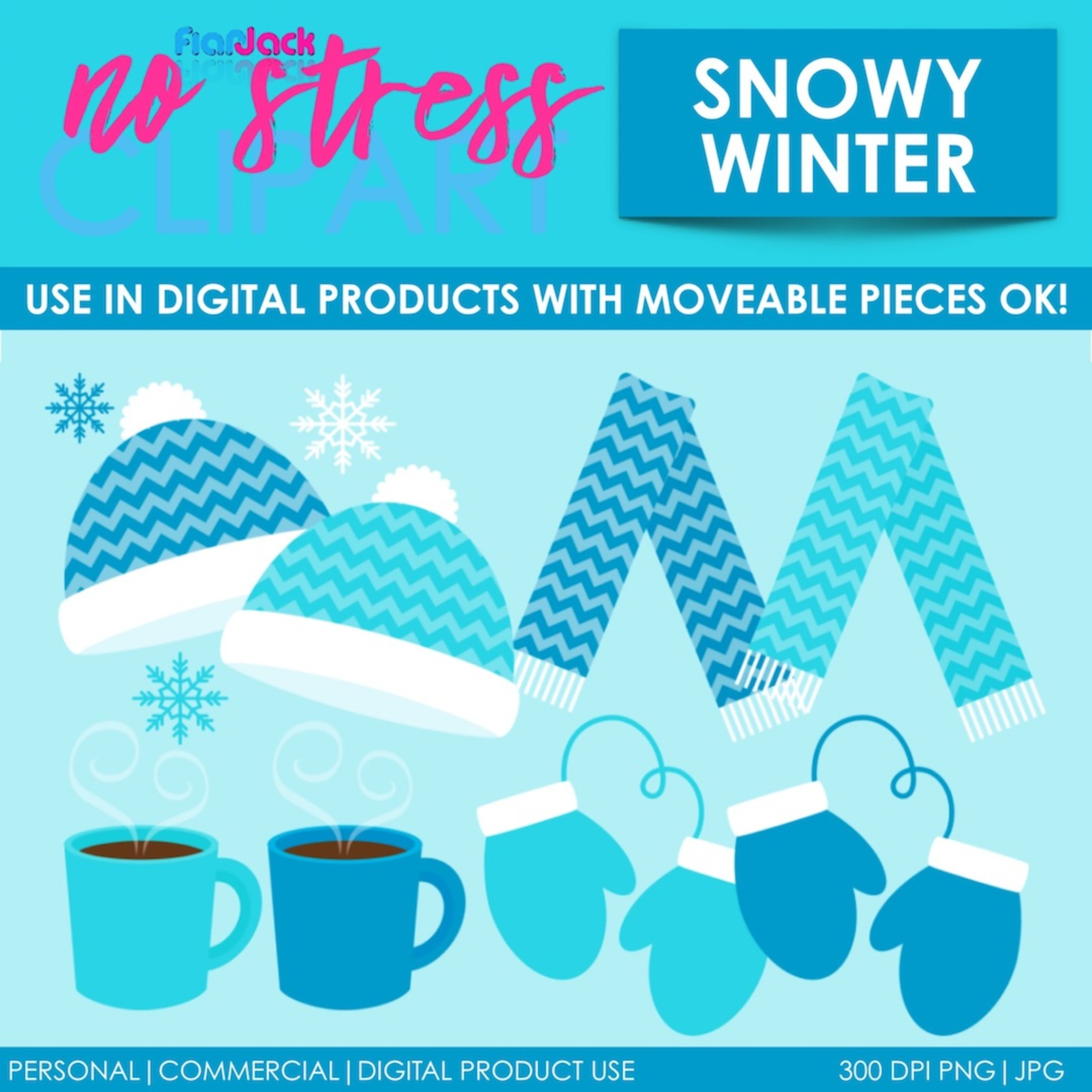 Snowy Winter Clipart