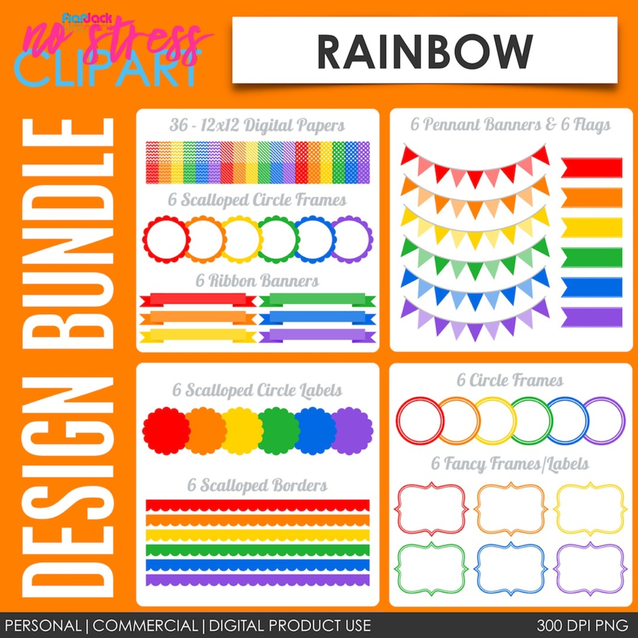 Rainbow Design Bundle