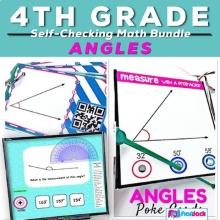 Angles Activity Bundle