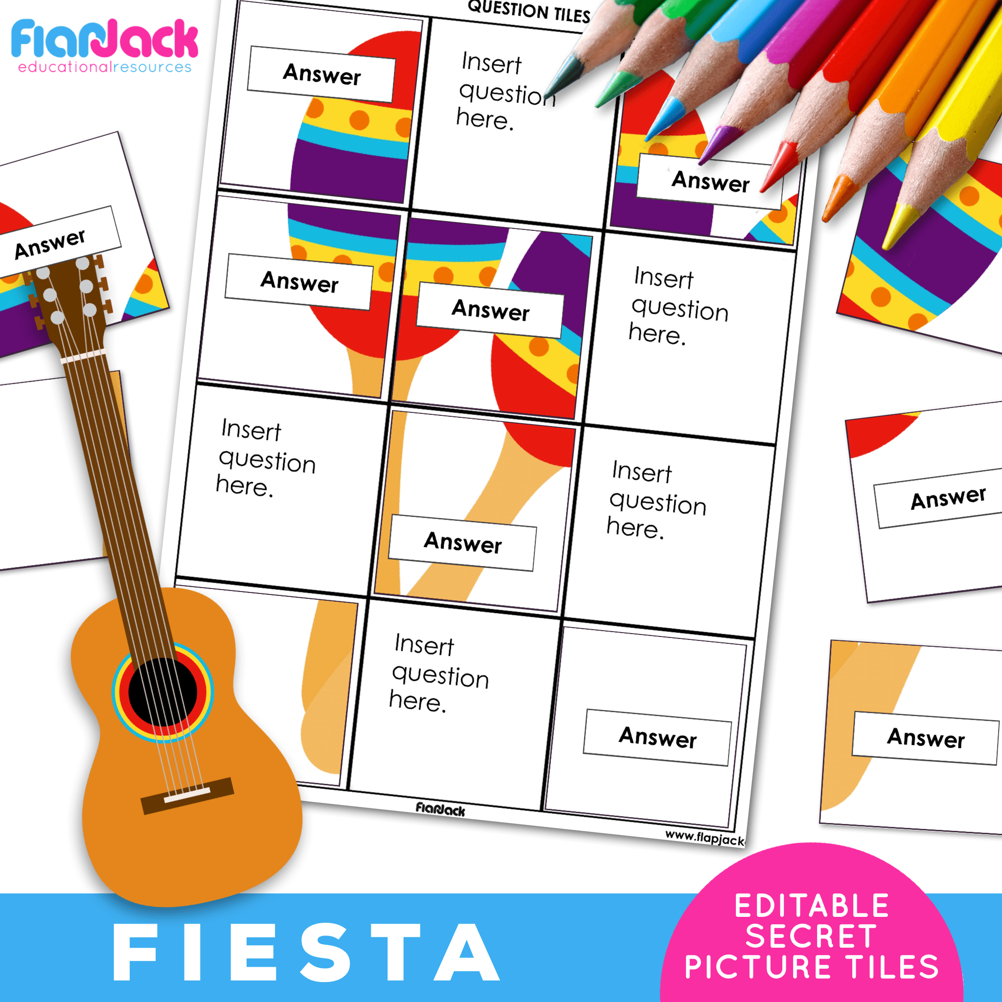 Printable EDITABLE Worksheets | Fiesta