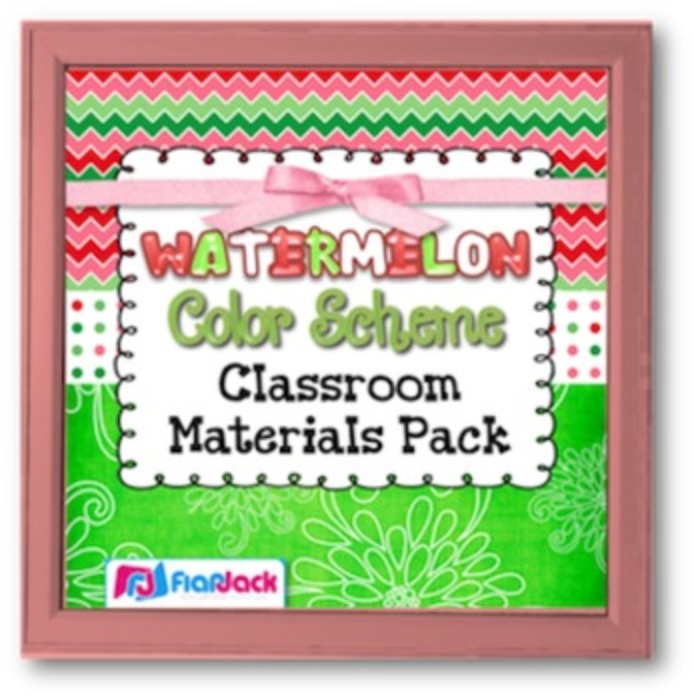 Watermelon Class Decor Bundle