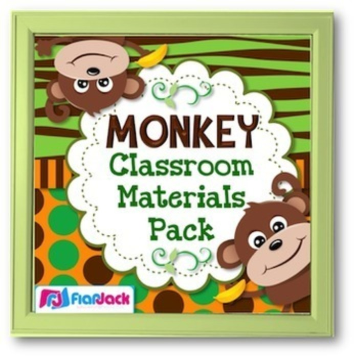Monkey Themed Class Decor Bundle
