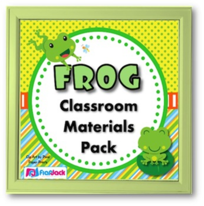 Frog Themed Class Decor Bundle