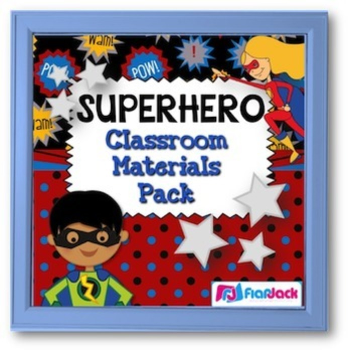 Superhero Themed Class Decor Bundle
