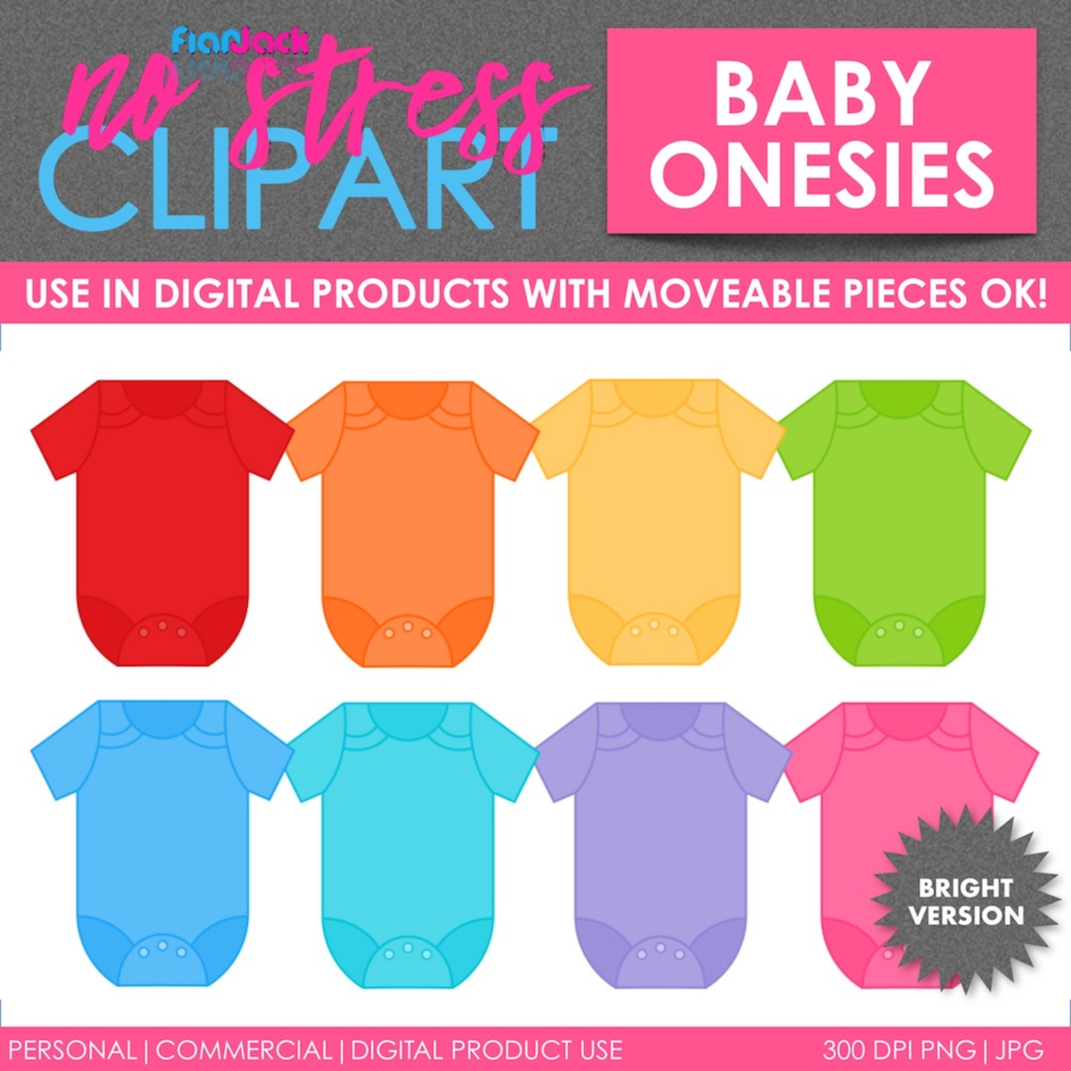 Baby Clothes Bright Set