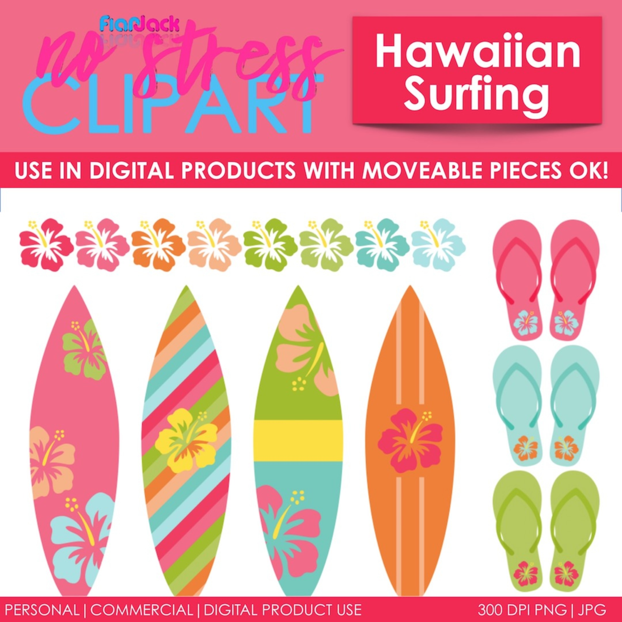 Hawaiian Surfing