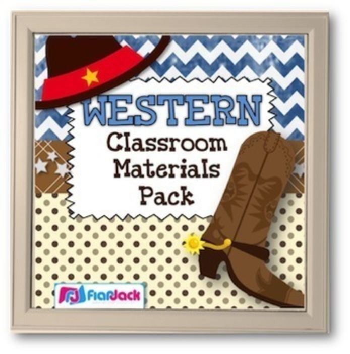 Wester Themed Class Decor Bundle