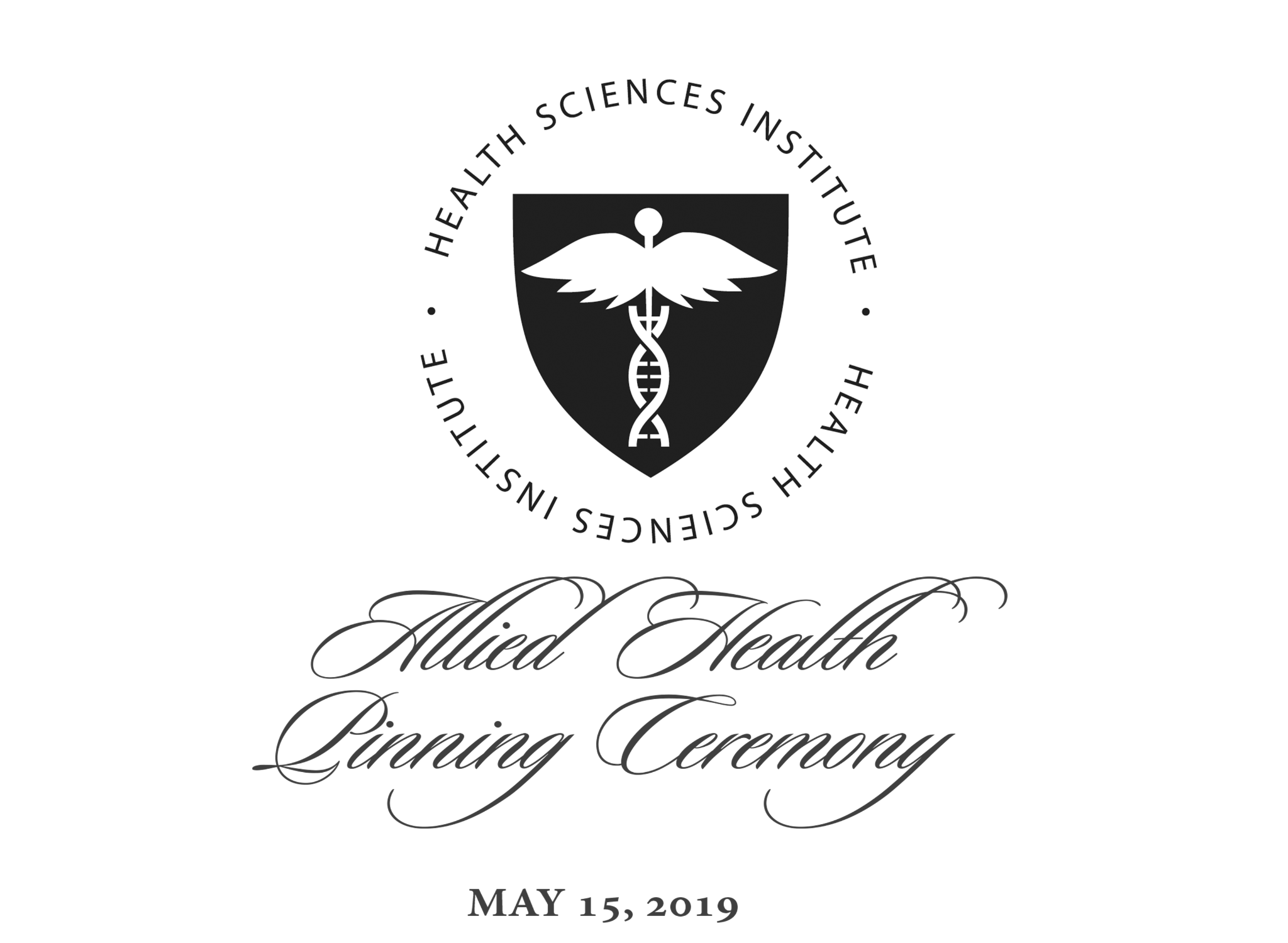 Allied Health Pinning Ceremony May 15, 2019