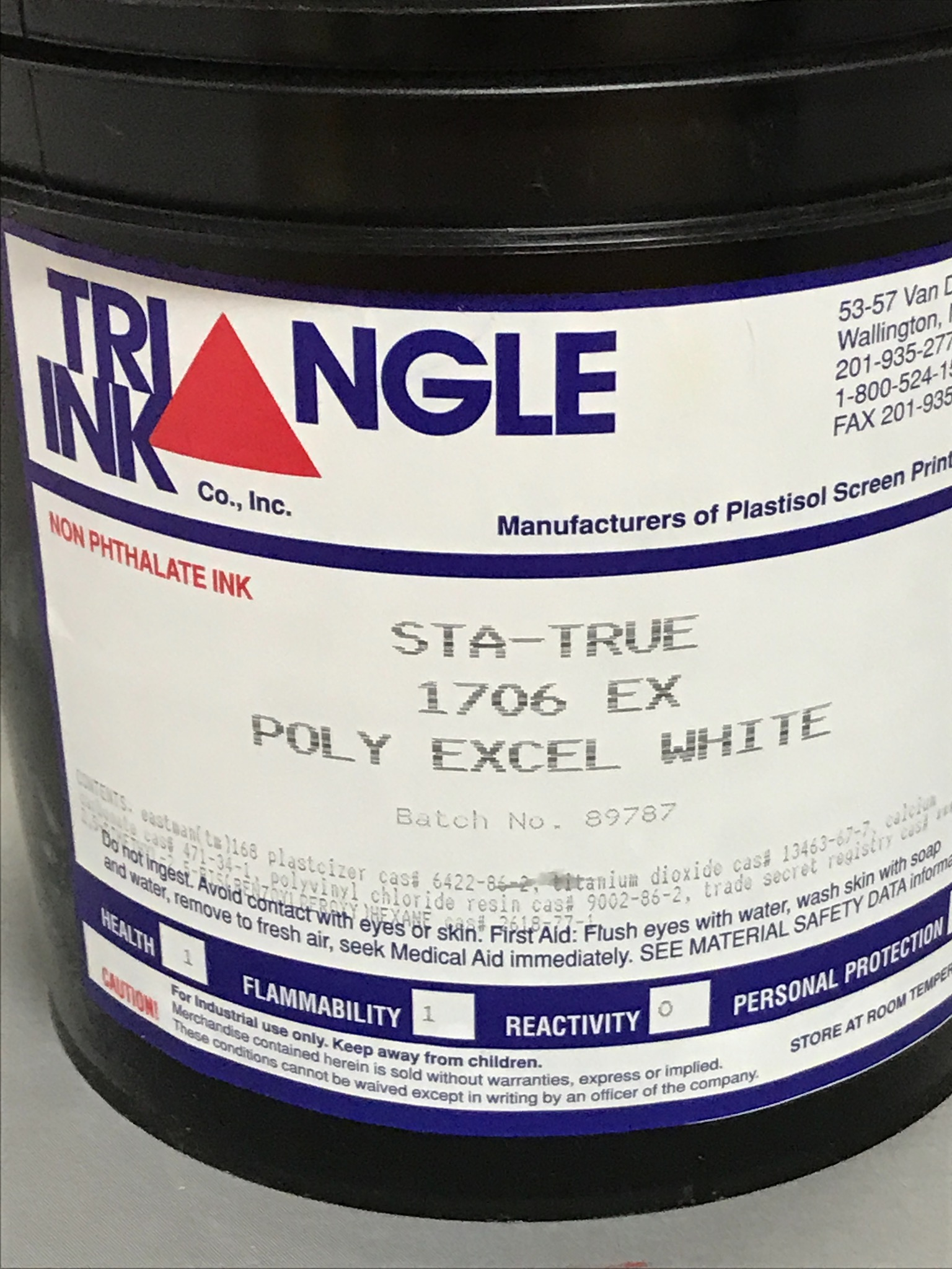 1706EX Excel Poly White