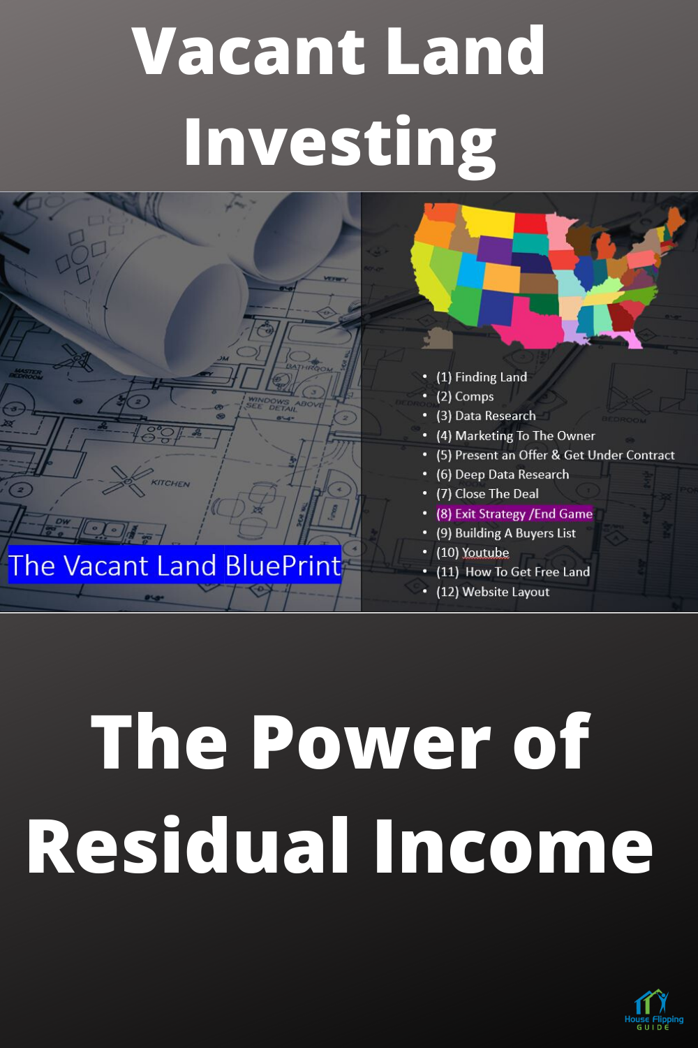 Vacant Land Investing Blueprint - The Power of Residual Income