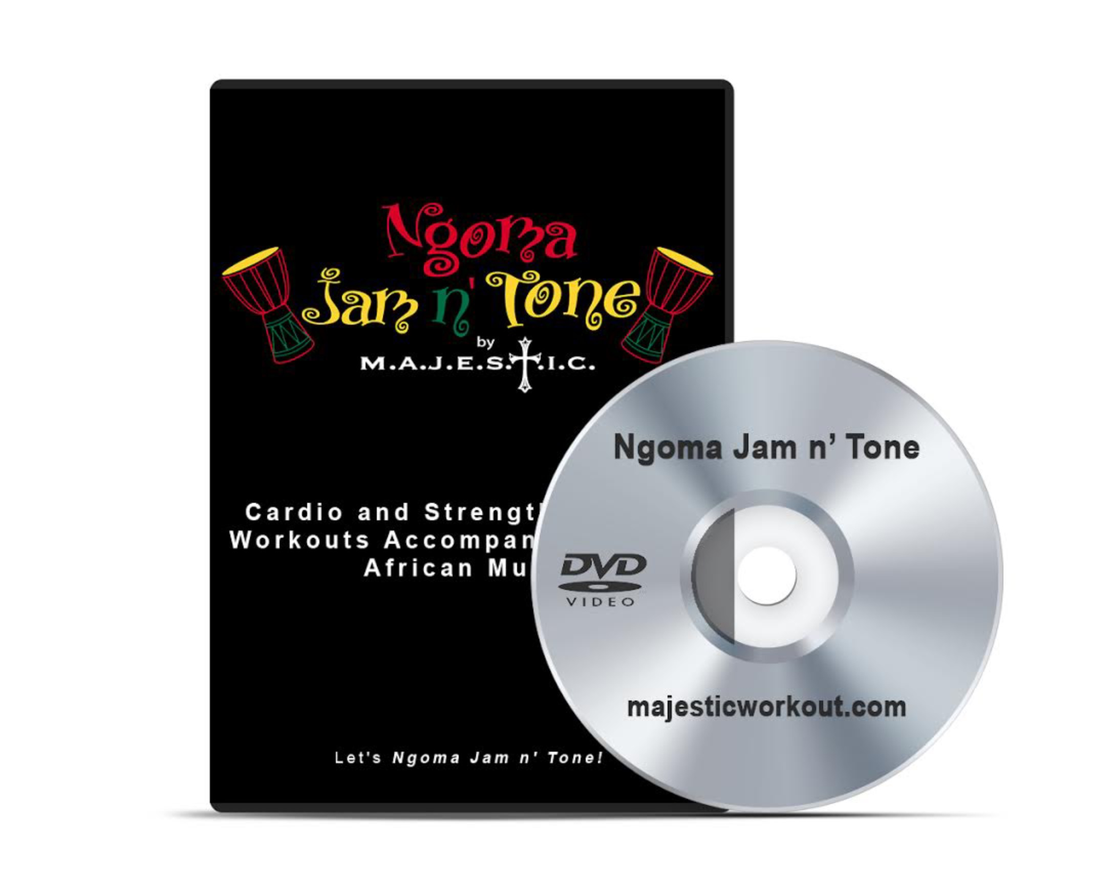 DIGITAL | Ngoma Jam n' Tone Exercise Video