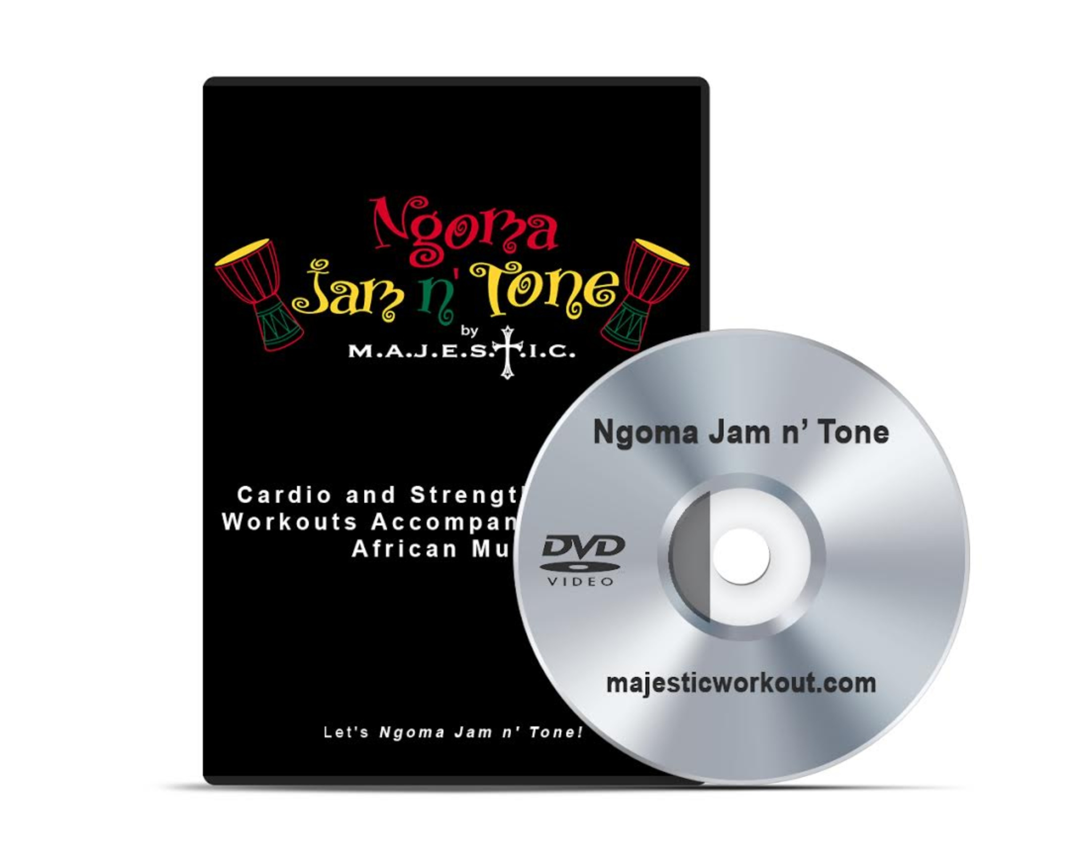 DVD | Ngoma Jam n' Tone Exercise Video