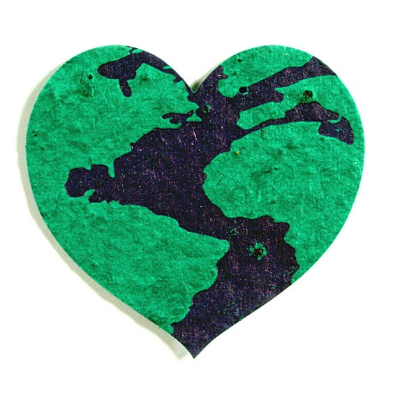 Seed Paper (Earth Heart)