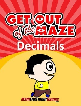 Decimal Mazes (Fun Decimal Worksheets)