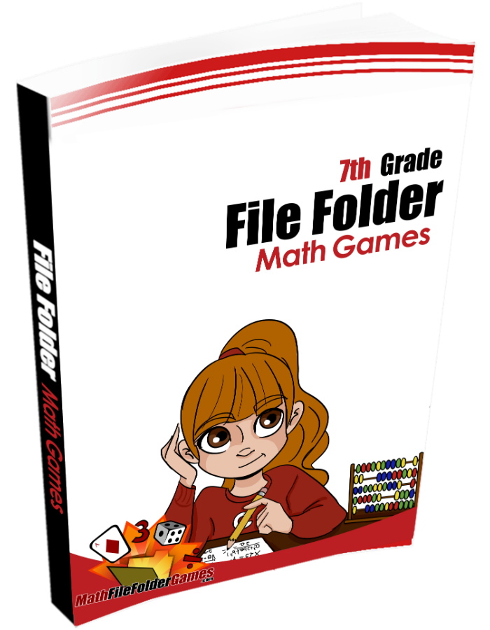 7th Grade File Folder Math Games